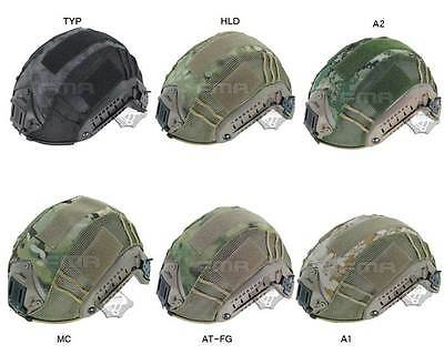 Tactical Hunting Combat Helmet Cover for FMA Fast Helmet Six Colors
