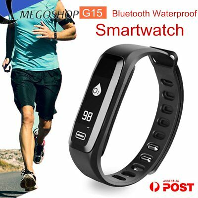 Bluetooth Blood Pressure Oxygen Heart Rate Monitor Smart Band Bracelet Watch P6