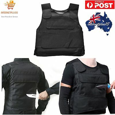 Knife Stab Proof Anti-stab Body Armour Vest Ballistic Security For Men Safe Keep