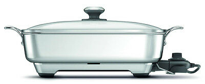 BREVILLE 2400W Thermal Pro Non Stick Eletric Frypan BEF560BSS