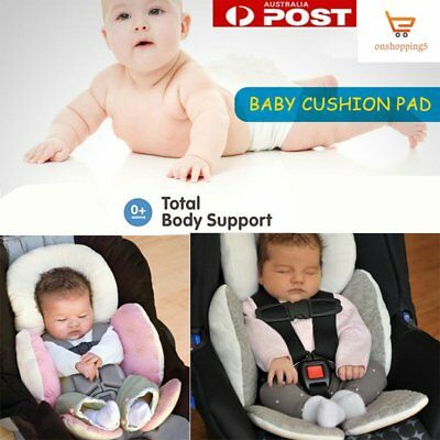 Newborn Baby Car Seat Stroller Cushion Pad Liner Mat Head Body Support Pill NT