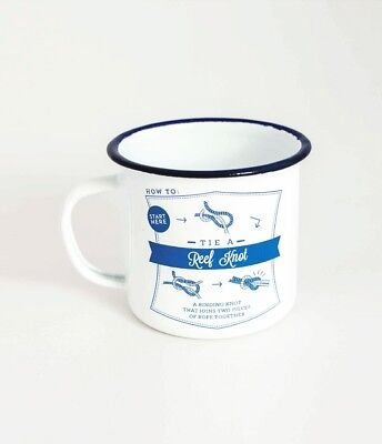 TMOD Adventure Enamel Cup - Knots