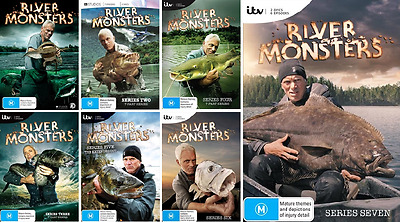 River Monsters SERIES COMPLETE COLLECTION Season 1 - 7 : NEW DVD