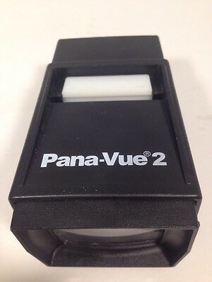 Pana-Vue 2 Illuminated Slide Viewer battery powered lighted Vintage C1