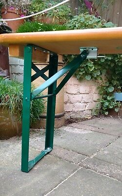 Retro German beer table & benches