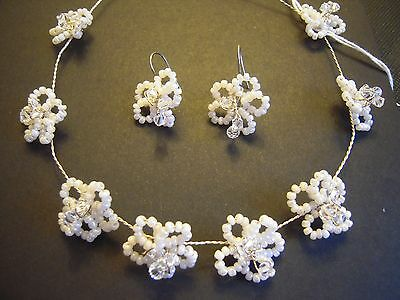 Parure Per La Sposa Collana + Orecchini / Wedding Set Spose Necklace