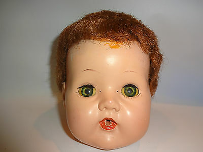 "Vintage American Character Tiny Tears 22""  Doll Head"