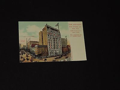 Antique Postcard Hotel Wolcott New York City (*1079)