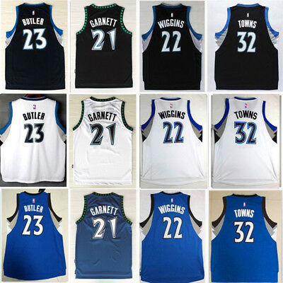 Minnesota Timberwolves NBA Jersey Men Adult Kid Youth Basketball Top Vest