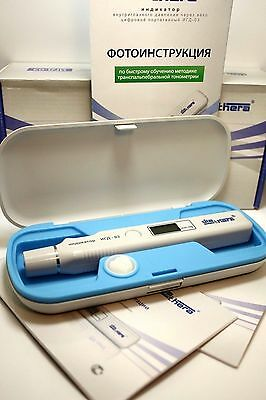 Digital Portable TONOMETER of INTRAOCULAR PRESSURE IOP Tester NEW Non-Corneal