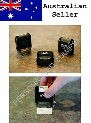 Personalised Self-Inking Pocket Rubber Stamp for Nurses, Doctors, Teachers, etc.
