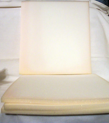 """6 Sheets 1/2"""" Foam Rubber Shipping Cushion Upholstery Crafts Multi-purpose 14"""""""