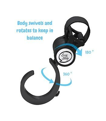 Stroller Hook - 2 Pack of Multi Purpose Hooks - Hanger for Baby