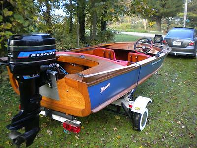 Classic 1958 Dundee Deluxe Model Outboard - Extremely Rare!