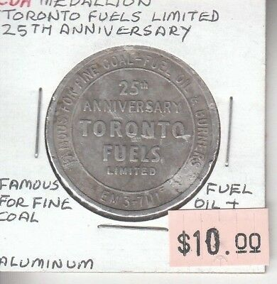 Canada Medallion Toronto Fuels Limited - 25th Anniversary