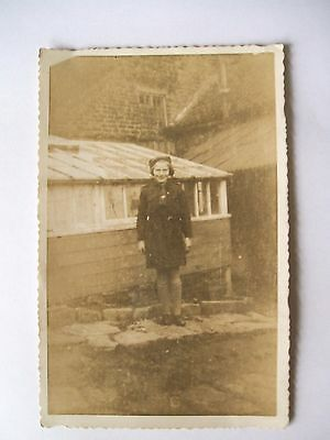 Vintage Real Photo Postcard  - Unknown Girl Guide