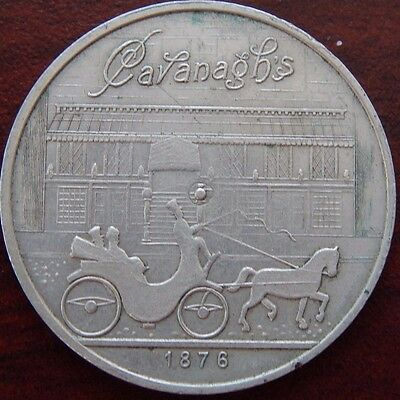 1946 Spinner 70Th Anniversary Cavanagh's Restaurant Horse & Buggy You Pay Phila!