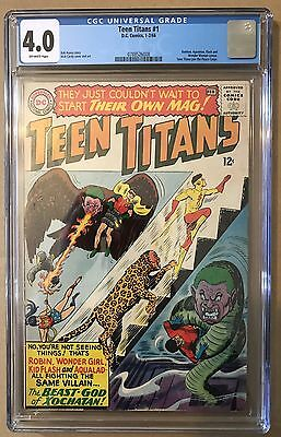 Teen Titans #1 ⭐️ CGC 4.0 ⭐️ 1st First In Own Title ⭐️ DC Comics