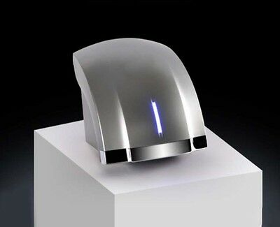 Silvery Plastic Wall Mounted Automatic Induction Quick Drying Hand Dryer Machine