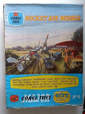 Corgi Toys Rocket Age Gift Set No.6 in original box
