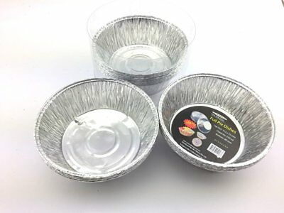 100xDisposable Aluminum Foil Baking Cake Muffin Pie Cup Cakes Party Pie Bakeware
