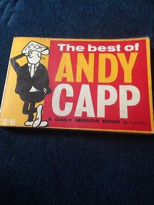 Vintage The Best Of Andy Capp A Daily Mirror Book By Smythe 1960