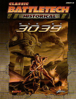 CLASSIC BATTLETECH-HISTORICAL-WAR OF 3039-(SC)-engl.-FANPRO-WK-new-rare #35014