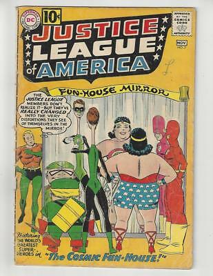 Justice League of America #7/DC Comic Book/Last $.10 Issue/GD-VG
