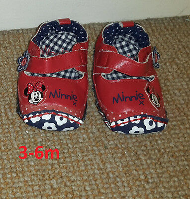 baby girl 3-6 months shoes bnwot