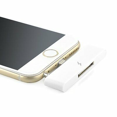WHITE 30 PIN to 8 PIN Lightning Adapter Converter Cable For iPhone 6/6s