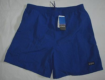 NWT boys PATAGONIA blue BAGGIES SHORTS nylon swim active XL 14 NEW