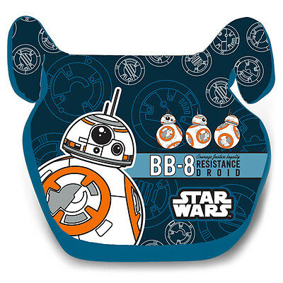 NEW STAR WARS 2 Boys Kids Baby CAR Booster Seat 15-36kg 3-12years Group 2/3