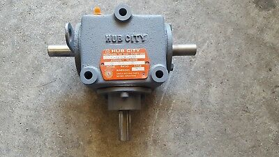 Hub City Bevel Gear Drive Mod M2 # 0220-00106-002 2/1 New Out Of The Box