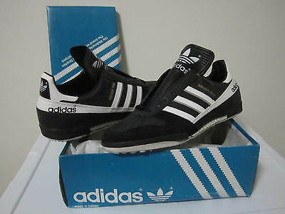 Adidas Indoor Pro Soccer shoes deadstock nos taiwan 80s 90s sneakers vtg trefoil