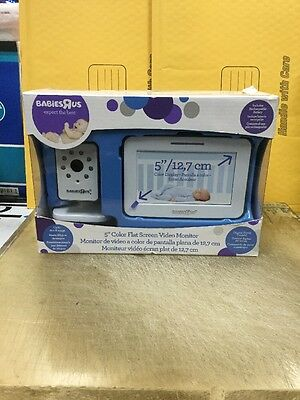 Brand New Sealed Babies R Us 5 Inch Color Flat Screen Video Monitor 5f62313A