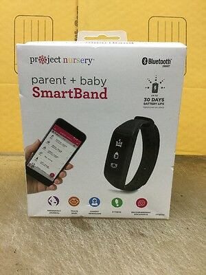 Genuine Project Nursery Parent and Baby SmartBand - Black Brand New