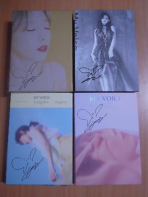 Taeyeon (SNSD) My Voice (1st Normal or Delux) with Autographed (Signed)