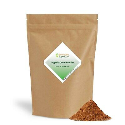 Organic Cacao Powder Raw Cacao Powder by Everyday Superfood