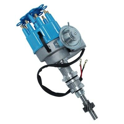 For SBF Ford Windsor 351W Electronic Ready To Run Drop-In Distributor w/Vacuum
