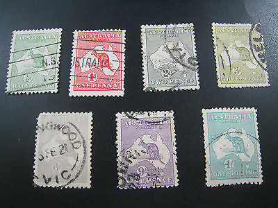 AUSTRALIA - SCOTT #1//10    Used   (APS A-27)