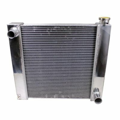 "For SBC BBC Chevy GM Fabricated Aluminum Radiator 21"" x 19"" x3'' Overall 2 Row"