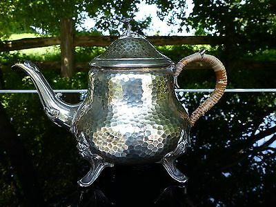 early 19thc antique french silver hallmark teapot pierre queille 1834-1846