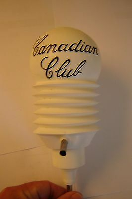 Vintage Canadian Club Plastic Pump With Original Bag, Probably Never Used