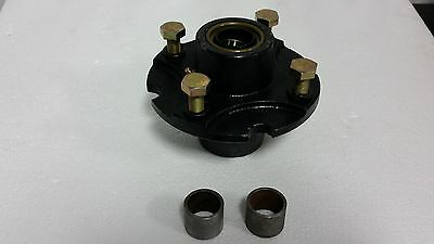 """Rotary Cutter Tail Wheel Hub Kit For 1"""" Shaft With Bearings Grease Fittings And"""