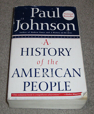 A History of the American People by Paul Johnson (Paperback)