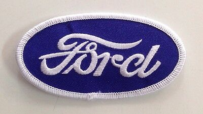 Ford Oval Embroidered Cloth Patch Falcon Mustang Fairlane Escort Cortina Gt 351