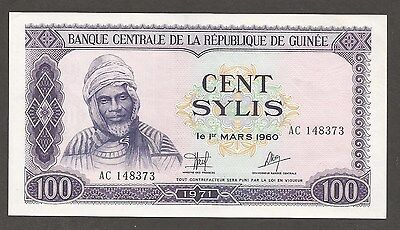 Guinea 100 Sylis 1971; AU+; P-19; L-B309a; Truck, Steam shovel; Open pit mine