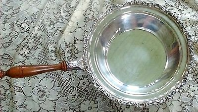 Crescent silverplate warming pan 4802p