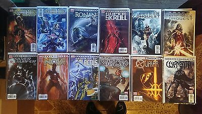 Marvel Comics guardians of the galaxy Annihilation Conquest Complete #1+ 44books