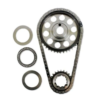 Double Roller 9 Keyway Billet Steel Timing Chain Kit For Ford 429 460 (Tor/Brg)